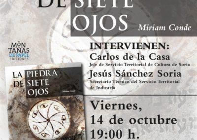 Presentación La Piedra de Siete Ojos en Soria