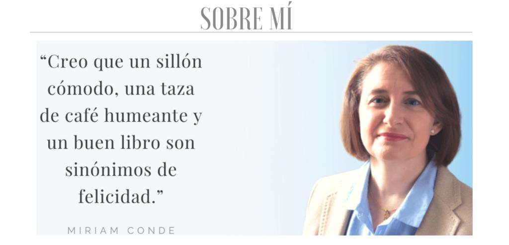 Miriam Conde escritora