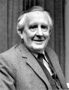 El escritor J.R.R. Tolkien